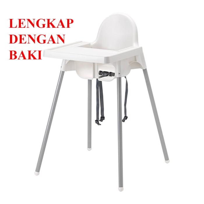harga Ikea Antilop Kursi Makan Anak Bayi Lengkap Dengan Meja Baki Tokopedia.com