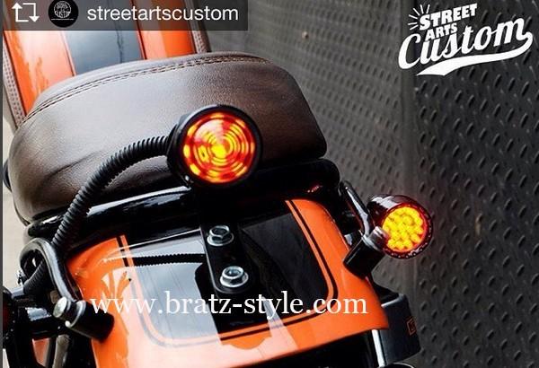 harga Turnlight 1316 led blackyellow bratzstyle caferacer japstyle kawasaki Tokopedia.com