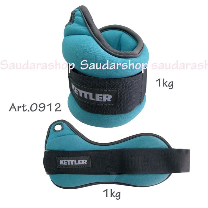 Kettler Wrist band Orange (2kg/pair&#41 .
