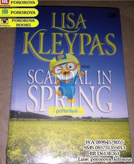 harga Novel lisa kleypas - scandal in spring Tokopedia.com