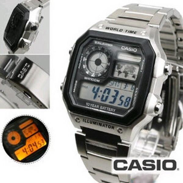 Casio Digital Original Garansi jual jam tangan digital pria casio original garansi resmi