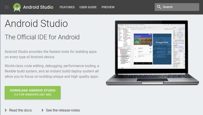 Foto Produk DVD Android Studio 3.0 + JDK 32 bit & 64 bit dari Toko Buku Meidika