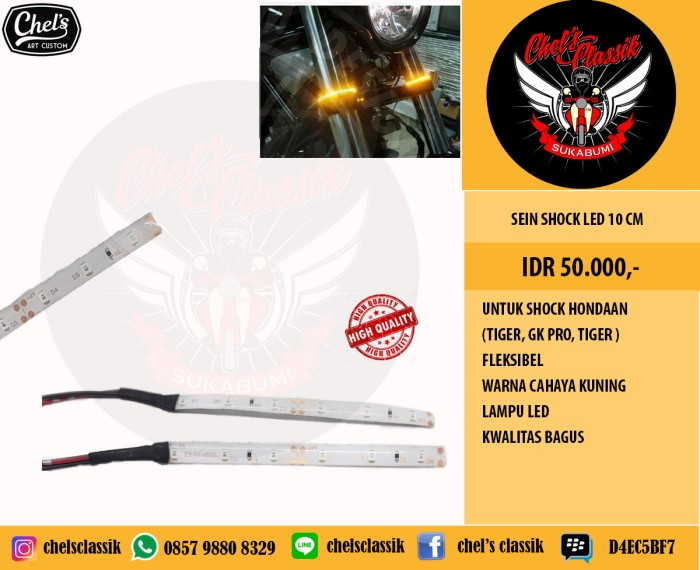 harga Sein shock led 20cm up side down Tokopedia.com