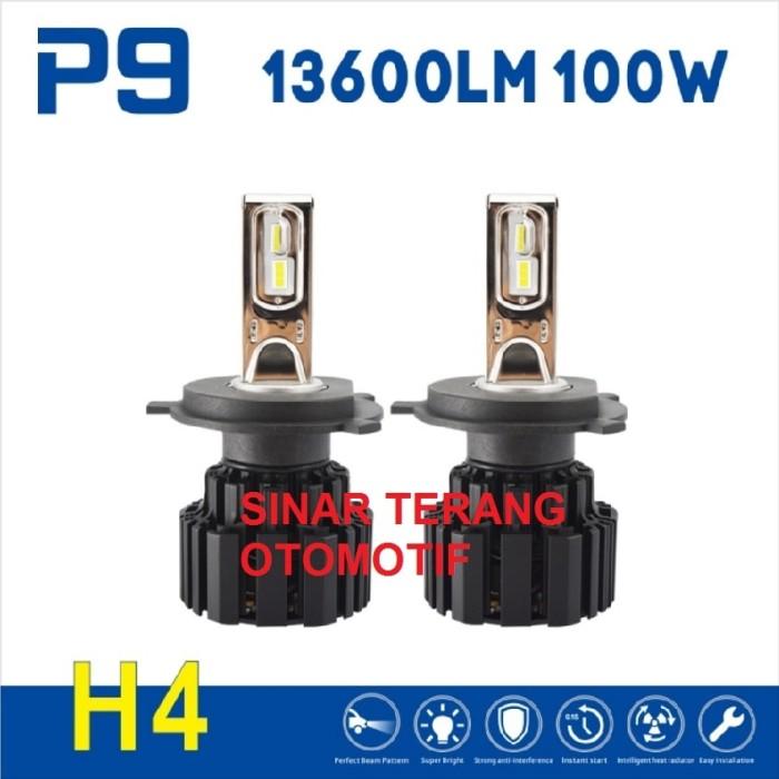 harga Led mobil h4 : 100w 13600 lumen(per set). untuk lampu mobil/motor Tokopedia.com