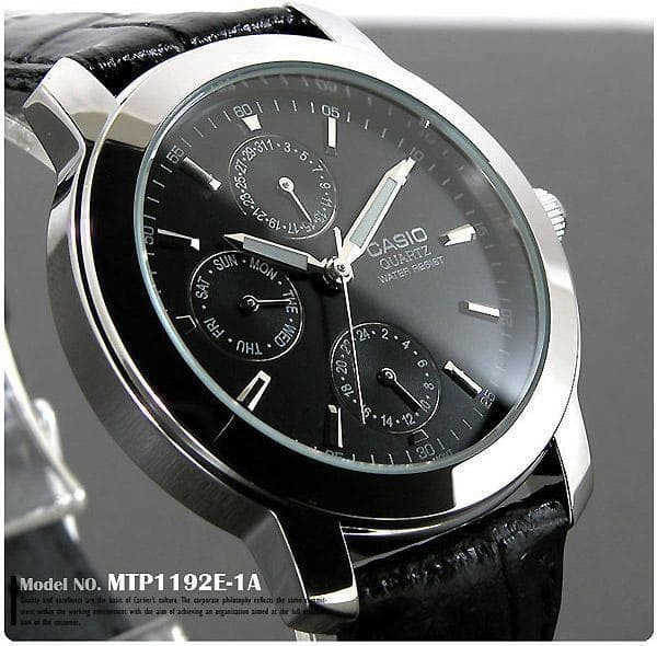 harga Jam tangan casio original garansi resmi 1 tahun [mtp 1192e 1a] ayotaya Tokopedia.com