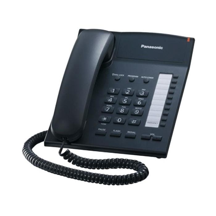 harga panasonic single line telephone kxts820 telepon kabel Tokopedia.com