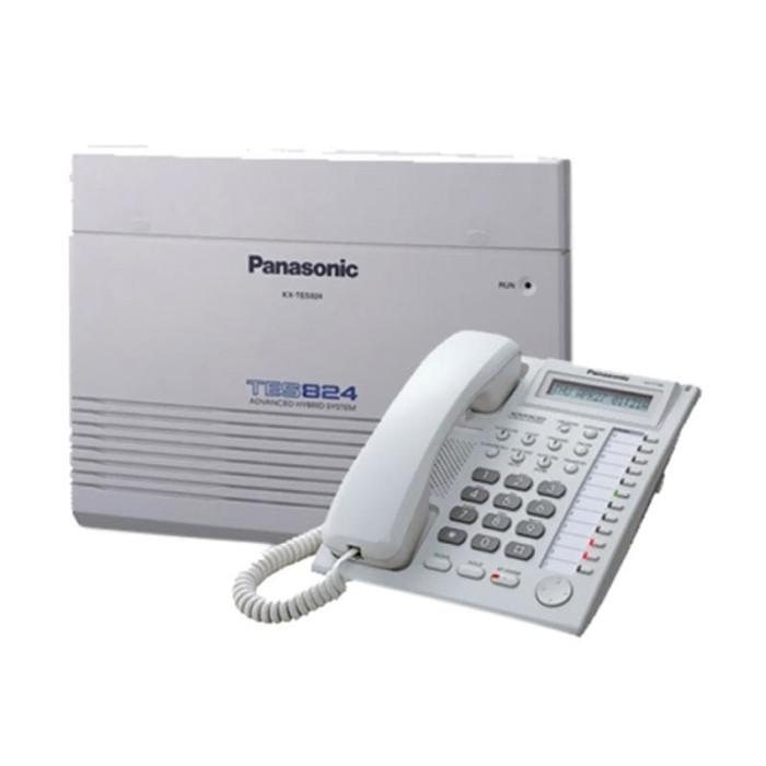 harga Panasonic kx-tes824 pabx 8 line 24 extension +1 unit panasonic kx-t773 Tokopedia.com
