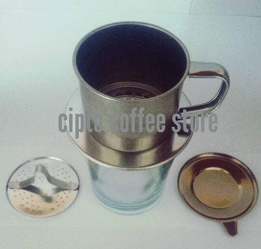 harga Vietnam Drip Ukuran 7q Dripper Coffee Alat Seduh Kopi/penyaring Kopi Tokopedia.com