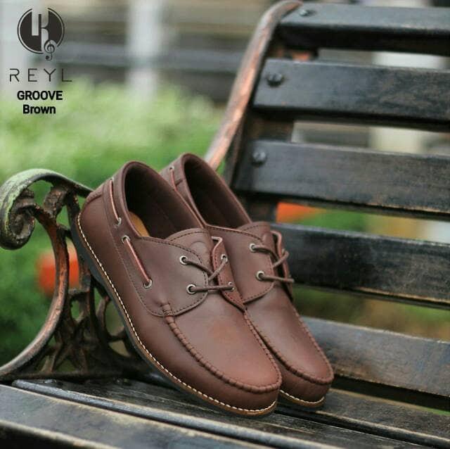 Free Bonus !!! Sepatu Slipom Murah Original (Kulit Asli) NEW BROWN -  Cokelat 65918a4630
