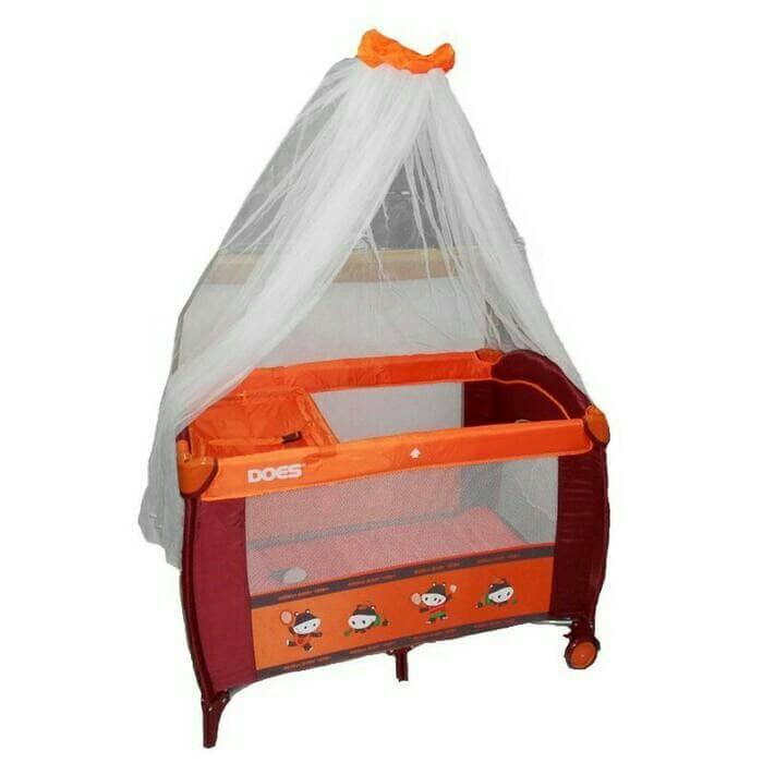 baby box babydoes 171 kasur ranjang tempat tidur bayi = creative 808 - Orange