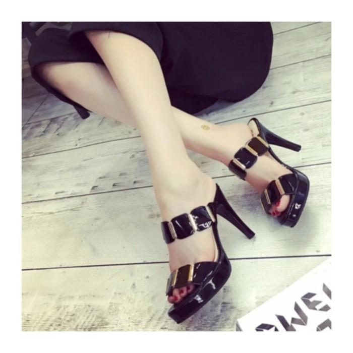 Kaluna Sepatu Wanita High Heels Krd20 Tan - Daftar Harga Terlengkap ... 1c0774932b