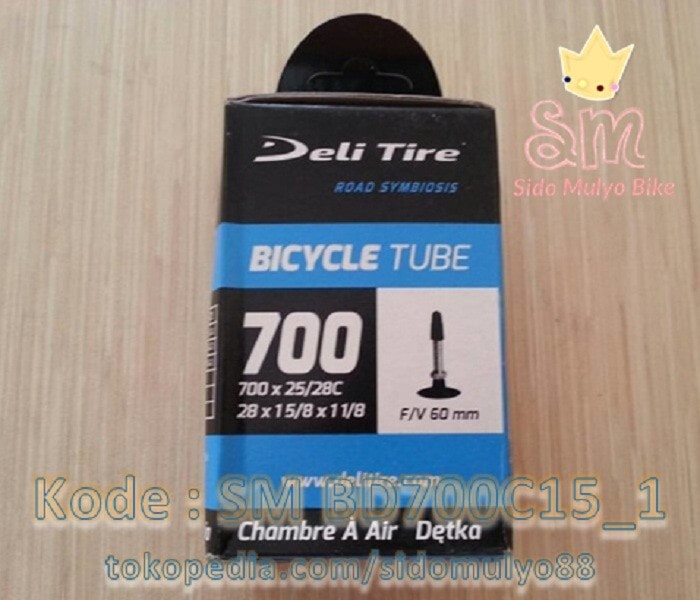 harga Ban dalam sepeda fixie ukuran 700 x 25/28c deli tire Tokopedia.com