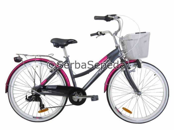 harga United sepeda keranjang 26'' tc 3650 c171 Tokopedia.com