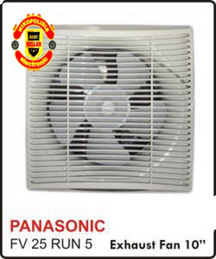 "harga Wall exhaust fan panasonic 10"" fv25run5/dinding panasonic 10"" inch Tokopedia.com"