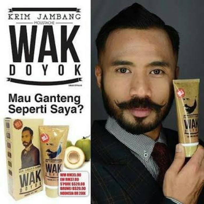 Wak Doyok Krim Original Malaysia Penumbuh Jambang Alis Rambut Kumis