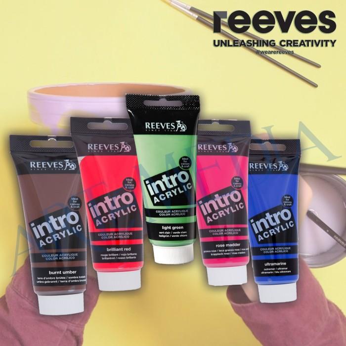 Reeves Intro Acrylic 120 ml - cat akrilik