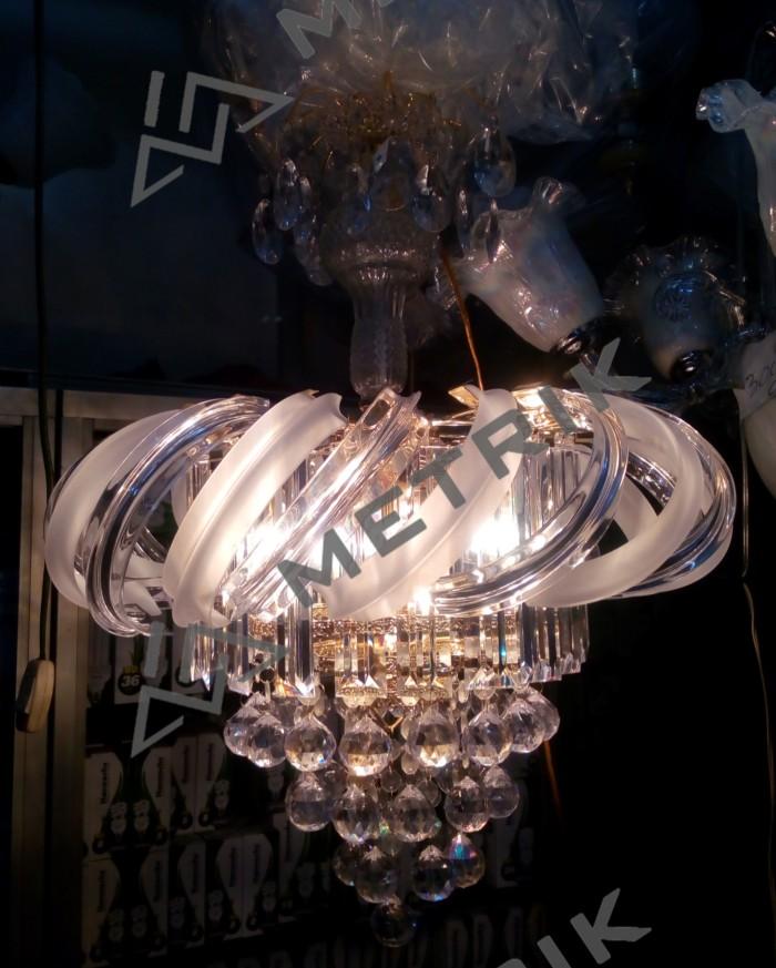 harga Lampu hias gantung kristal modern/ lighting ruang tamu - 5lp Tokopedia.com