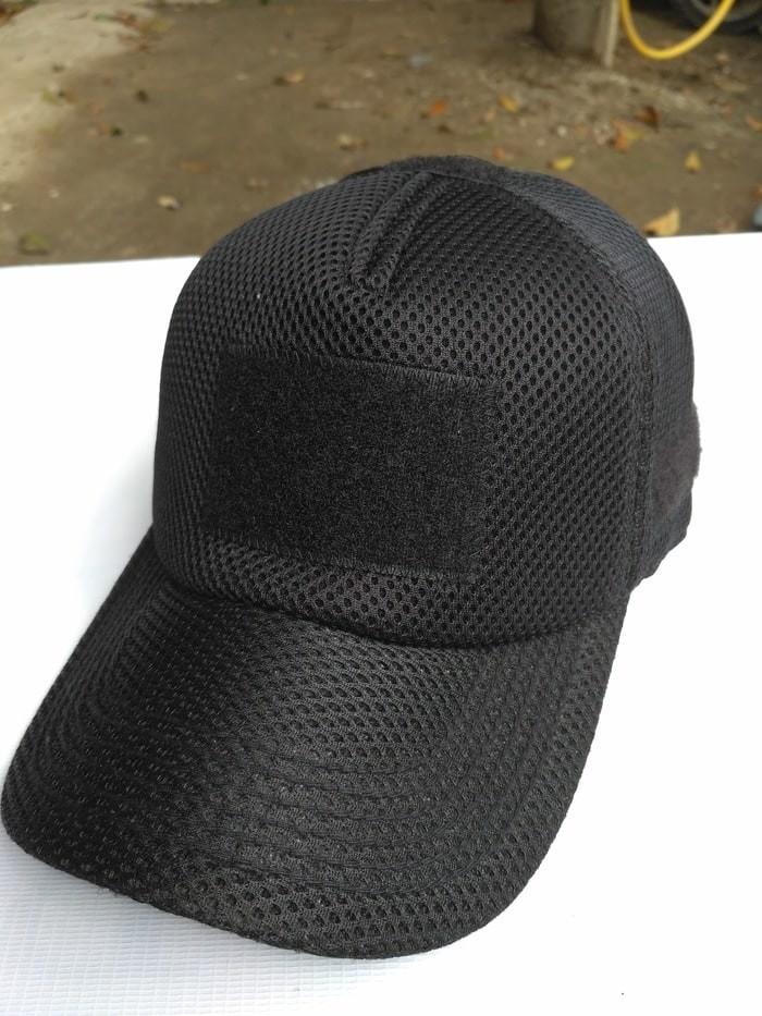 ... harga Topi velcro jala hitam - topi bdu army - topi tactical molay  Tokopedia.com ced8f9206b