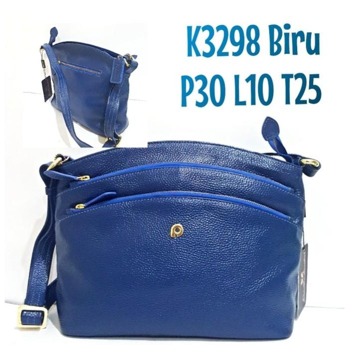 Tas kulit papillon original k3298 biru harga ... 3c4a5b4f82
