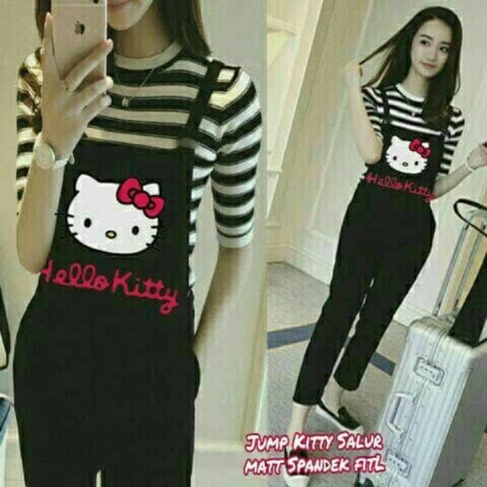 d03cbbc4a Jual Jumpsuit Hello Kitty Salur Limited - putratoponline   Tokopedia