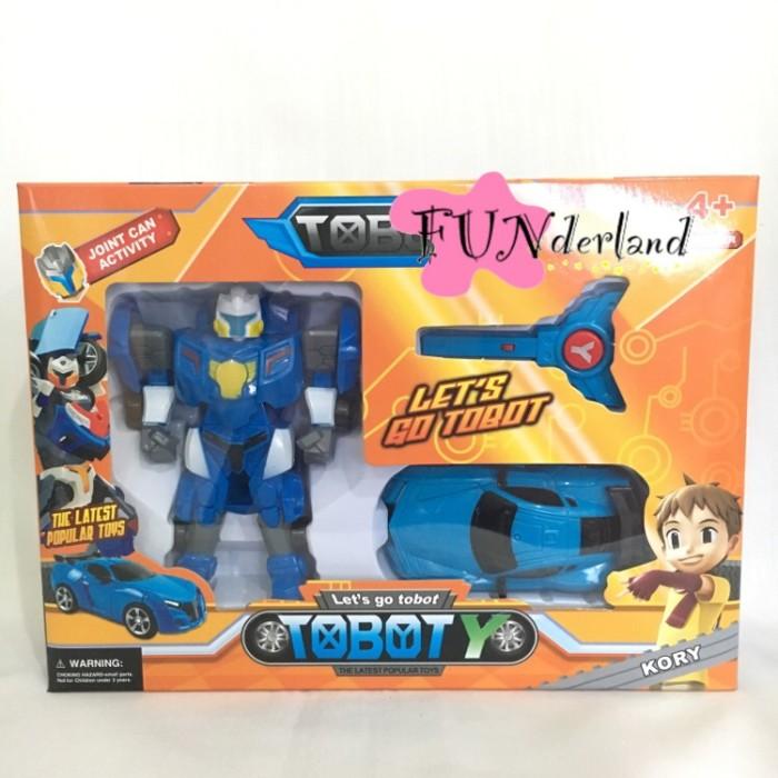 Foto Produk Mainan robot Tobot Mini Y kunci mobil jalan dari Funderland