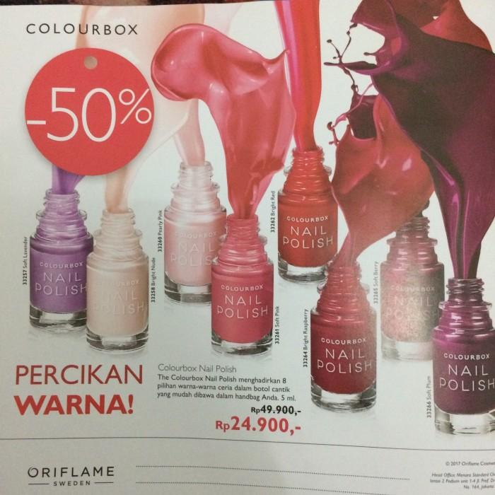 Jual Colour Box Nail Polish Kab Bogor Cantik By Oriflame Tokopedia
