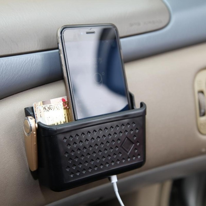 harga Lynx car organizer storage box phone holder style adhesive multifungsi Tokopedia.com