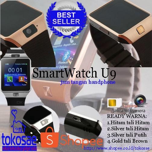 harga Hp jam keren smartwatch u9/dz09 Tokopedia.com