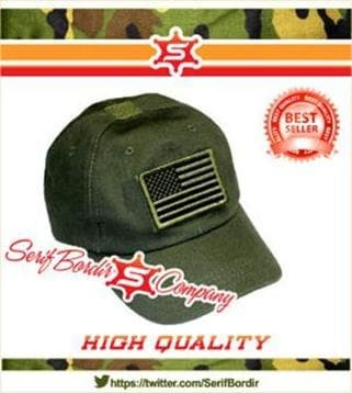 Topi Baseball Tactical War Army Police Pria Bordir Import Exclusive