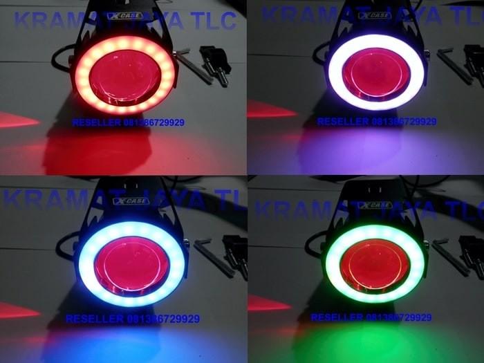 Harga Lampu Tembak Led Cree U7 Tranformer Angel Eyes Rgb 8 Model Nyala De Tokopedia