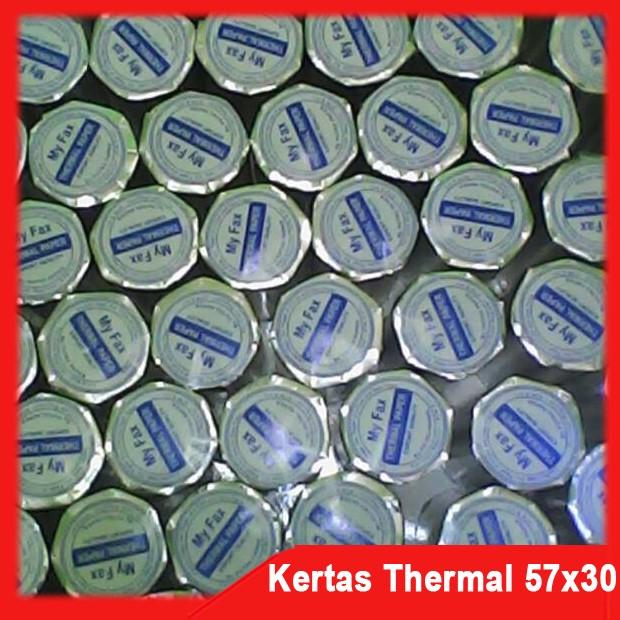 Kertas Thermal Paper 57x30mm Struk Kasir POS - 250 Buah. Source · Jual Kertas Thermal .