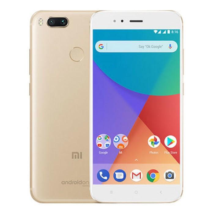 harga Xiaomi mi a1 gold android one google - 4/64gb - garansi resmi tam - hitam Tokopedia.com