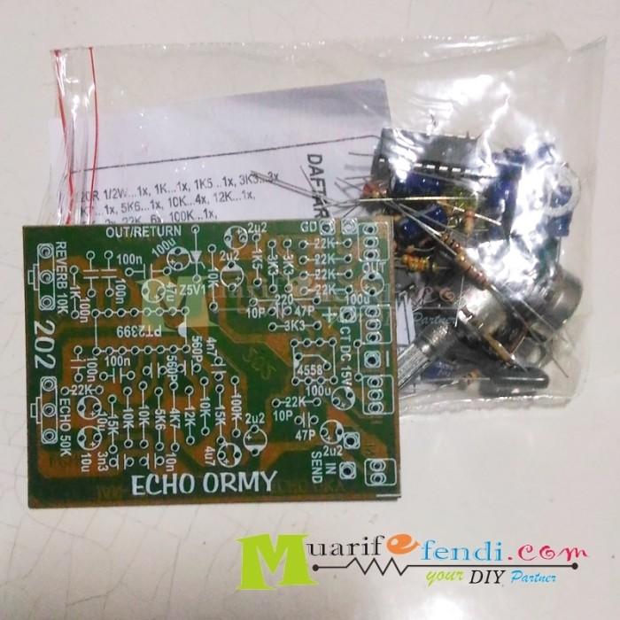 Jual PAKET DIY Echo Eco Effect efek digital PT2399 reverb mic mixer ORMY -  Kota Madiun - serelkom (muarifefendi) | Tokopedia
