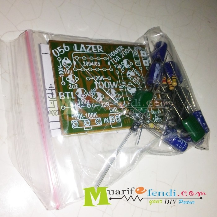 ... harga Paket diy amplifier 100watt ic tda2004 2005 power mobil btl lazer Tokopedia.com