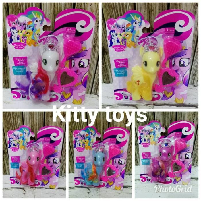 harga Mainan Anak Boneka Figure My Little Pony Girls Tokopedia.com 7301b141fb