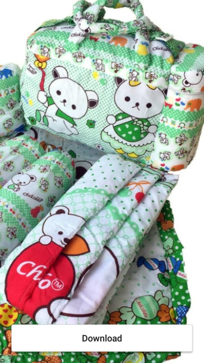 Jual 1 Set Tas Bantal Guling Gendongan Alas Tidur Perlak Bayi Jakarta Pusat BROUMmedia
