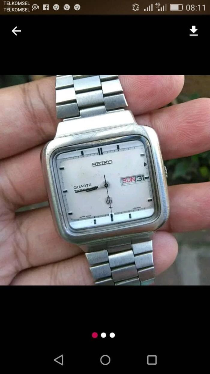Jual Jam Tangan Pria Seiko Quartz type II vintage rare - arloji ... 5782572c25