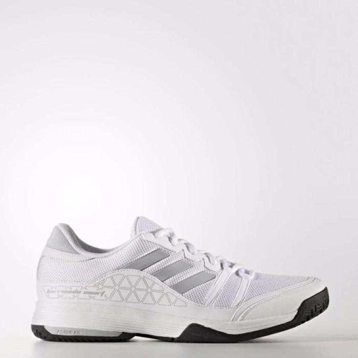 harga Sepatu tennis adidas barricade court wide - white original Tokopedia.com
