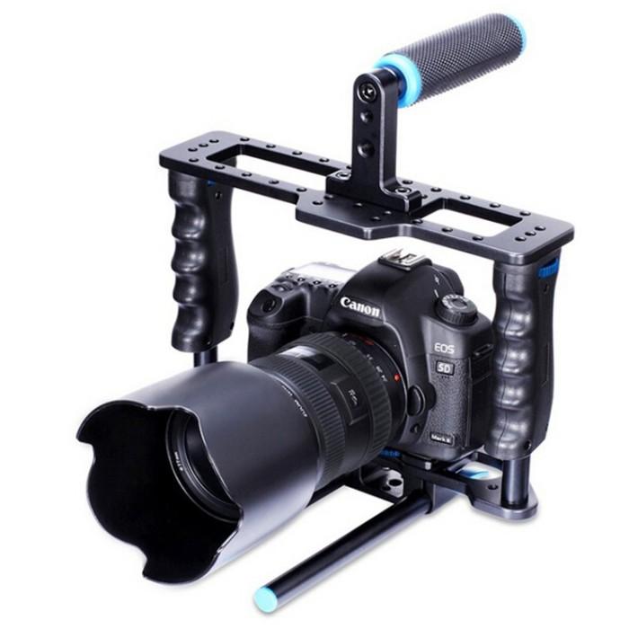harga Yelangu rig stabilizer kamera dslr 15mm rod - black Tokopedia.com