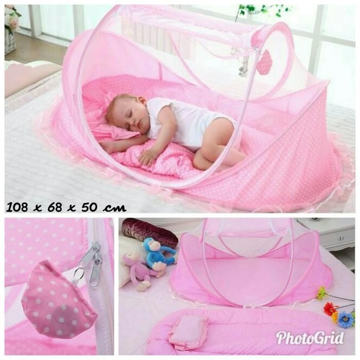 harga Kelambu musik baby 3in1bantal dan kasur tempat tidur bayi Tokopedia.com