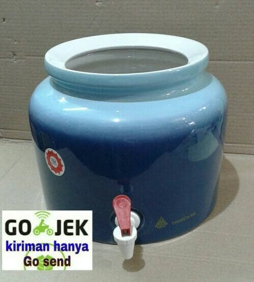 harga Guci air,guci galon,guci keramik polos trisensa Tokopedia.com