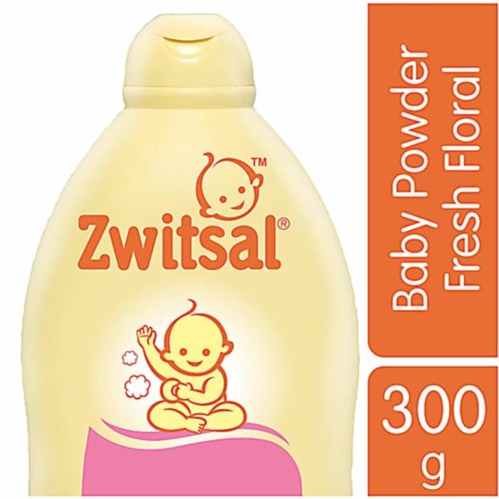 Foto Produk Zwitsal Baby Powder Classic Fresh Floral 300Gr / Bedak Bayi Wangi dari TSPOINT STORE