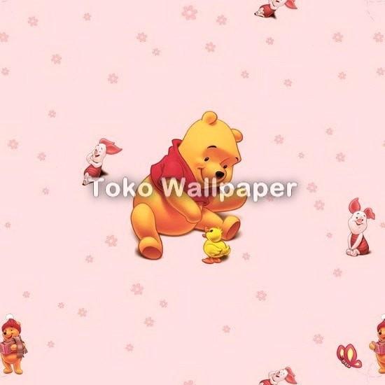 Jual Wallpaper Kamar Anak Lollipop Ll5911 Winnie The Pooh Pink Jakarta Pusat Maju Interior Tokopedia