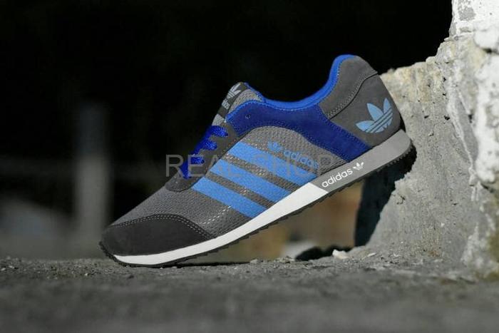 harga Diskon terbaru sepatu sport adidas v racer men abu abu biru kets casu  Tokopedia. 910db42a1b