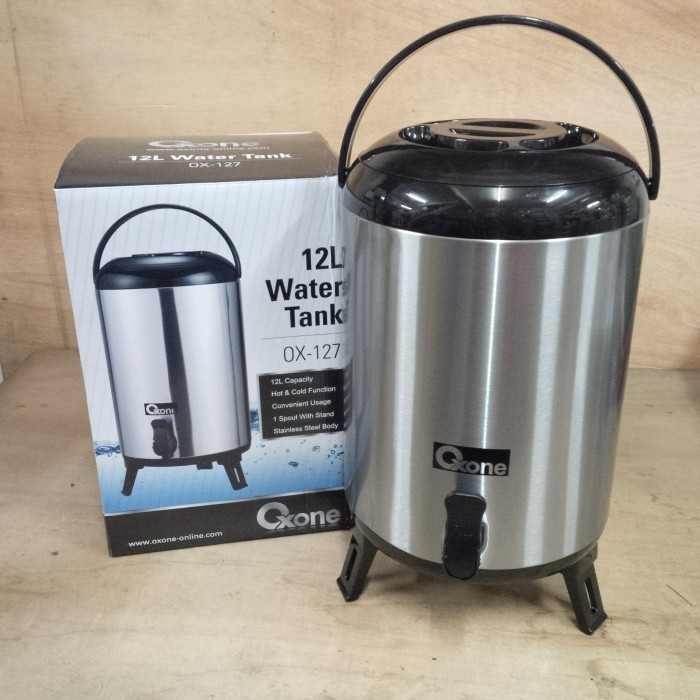 harga Dispenser Water Tank Oxone Ox-127 / Termos Air Panas Atau Dingin Ox127 Tokopedia.com