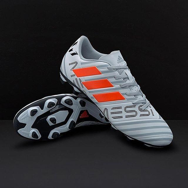Jual Sepatu Bola Adidas Nemeziz Messi 17 4 Fg White Solar Orange