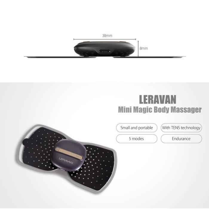Xiaomi Mijia LF Magic Massage Pad Black Harga Rp  280 000