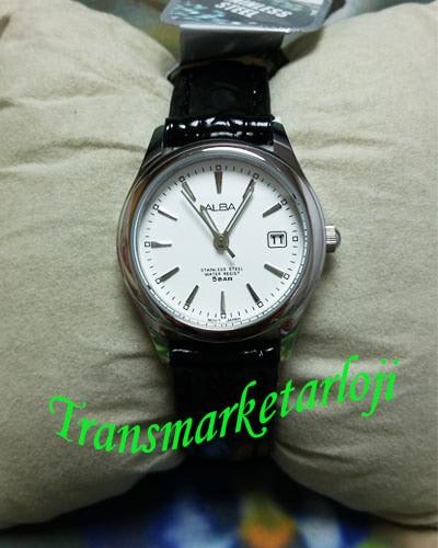 Jual Jam Tangan Wanita Alba AXU035X1 Silver Hitam Original Garansi ... c607d2996e
