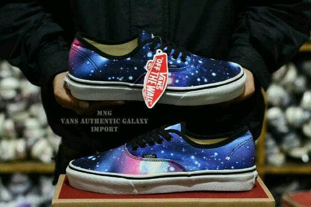 Jual sepatu VANS authentic Galaxy