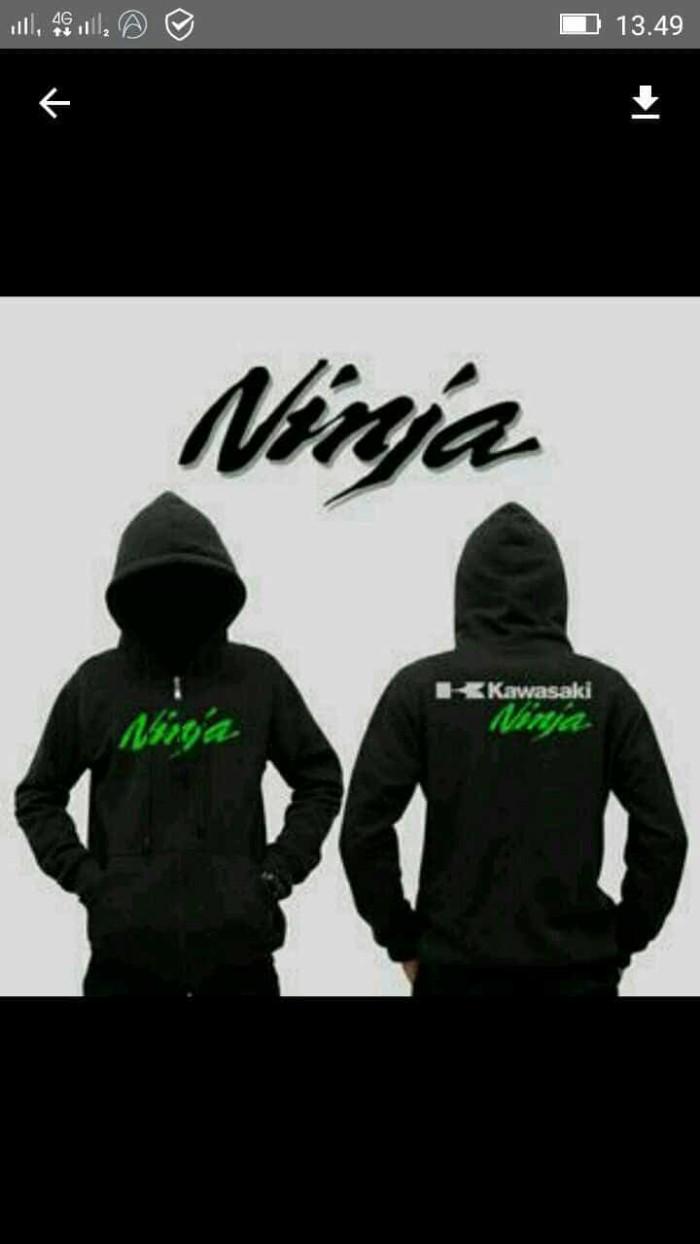 harga Hoodie zipper-sweater-jaket ninja kawasaki keren Tokopedia.com